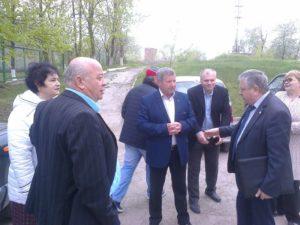 """Vizită de inspectare și documentare a procesului de implementare a proiectului """"Renovarea centrului de sănătate Drochia «Anatolie Manziuc»"""