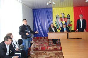 Ședinţă de lucru cu locuitorii comunei Cotova
