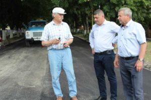 Vizită de lucru în vederea verificării lucrărilor de reparație și întreținere a drumului public din orașul Drochia
