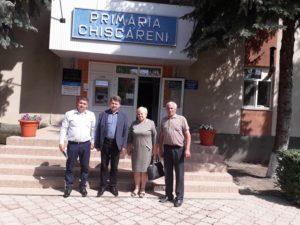 Vizită în comuna Chişcăreni