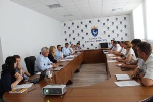 Prima ședință a grupului de lucru pentru planificare strategică în sectorul de Apă și Canalizare din raionul Drochia.