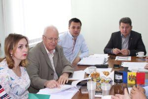 Ședinţă de lucru cu participarea delegaţiei din România