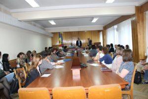 Ședinţă de lucru cu asistenţii sociali din teritoriul raionului Drochia