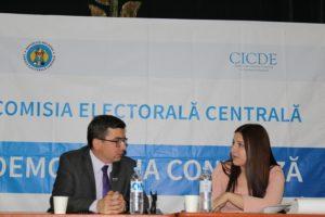 Reprezentanții Comisiei Electorale Centrale (CEC) și a Centrului de Instruire Continuă în Domeniul Electoral (CICDE), au organizat o întîlnire…
