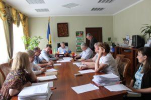 Ședința Comisiei de examinare a solicitărilor de acordare a ajutorului financiar unic din fondul de rezervă al Consililui raional Drochia