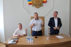 Vizită de lucru la Î.S Poşta Moldovei