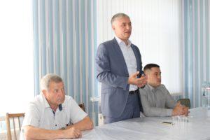 Vizită de lucru în satul Ochiul Alb, raionul Drochia