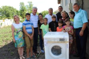 Maşină de spălat pentru familia Cazacu