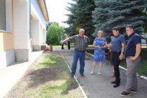 """Vizită de inspectare și monitorizare a procesului de implementare în cadrul proiectului """"Renovarea centrului de sănătate Drochia «Anatolie Manziuc»"""