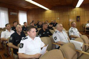 Ședința de bilanț a Inspectoratului de poliție Drochia