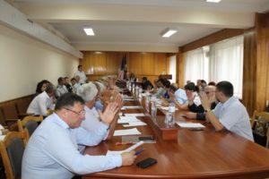 Şedința extraordinară a Consiliului raional Drochia