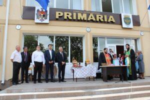 Inaugurarea primăriei satului Ţarigrad