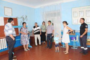 Reorganizarea şcolii primare Şalvirii Noi, comuna Palanca