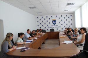 Şedinţa echipei multidisciplinare teritoriale