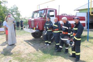 O unitate de pompieri a fost lansată astăzi 20 august in satul Gribova, raionul Drochia.