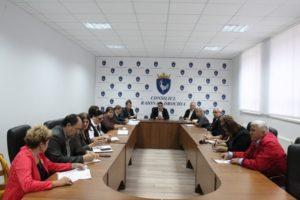 Ședința ordinară cuvicepreședinții raionului și reprezentanții serviciilor publice desconcentrate.