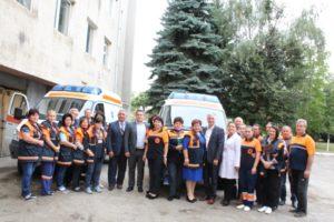 GuvernulRepublicii Moldova continuă să investească în sistemul de asistență medicală urgentă!