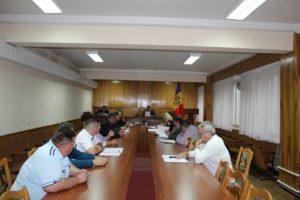 Şedinţa ordinară a Comisiei pentru Situaţii Excepţionale raionale