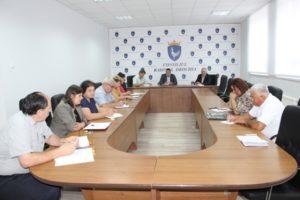 Ședința de lucru cu funcționarii din aparatul președintelui raionului Drochia!