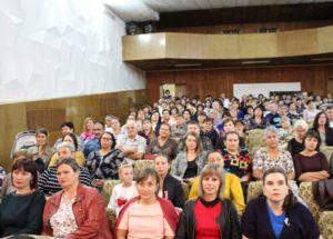 Festivitatea solemnă dedicată lucrătorului din sfera protecției sociale a populației!