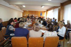 Ședința de lucru cu managerii instituțiilor de învățământ preuniversitar