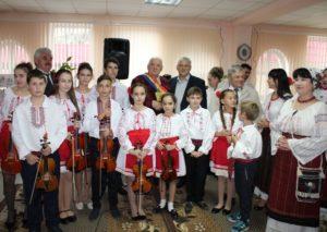 Renumitul și talentatul compozitor Serghei Ciuhrii la aniversarea a 80 de ani