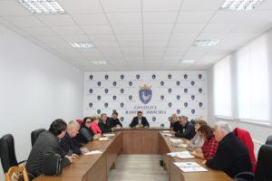 O analiză a situației curente pe raion în cadrul ședinței săptămînale