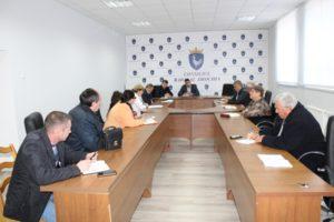 Ședința de lucru a subdiviziunilor subordonate Consiliului raional Drochia