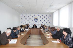 Ședință operativă cu vicepreședinții raionului Drochia