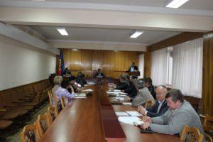 Ședința Comisiei Situații Excepționale a raionului Drochia