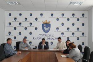 Ședința Comisiei raionale privind organizarea transportului rutier de persoane prin servicii regulate.