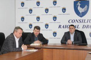 Ședința săptămânală convocată de președintele raionului