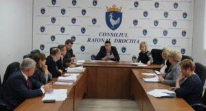 Ședința Comisiei de examinare a solicitărilor de acordare a ajutorului financiar unic din Fondul de rezervă al Consiliului raional Drochia