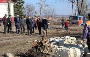 În satul Fântâniţa s-au desfăşurat aplicaţii la protecţia civilă