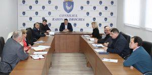 Preşedintele raionului a convocat şedinţa lucrativă cu şefii secţiilor şi direcţiilor a CR Drochia
