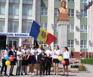 La Drochia a fost marcată Ziua Drapelului de Stat