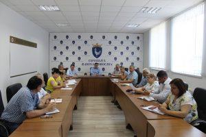 Ședința de lucru cu responsabilii din cadrul aparatului președintelui și a subdiviziunilor subordonate