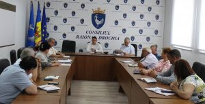 Şedinţă lucrativă în cadrul Aparatului preşedintelui raionului
