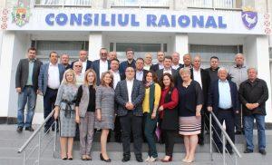 Ultima şedinţă al Consiliului raional Drochia, din mandatul actual
