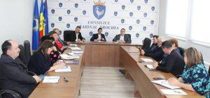 Prima şedinţă lucrativă a conducerii raionului în noua componenţă