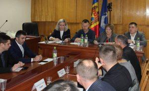 Şedința de constituire a Consiliului raional Drochia