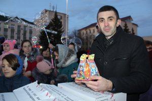 Inaugurarea festivă a Pomului de Crăciun