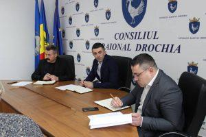 Şedinţa lucrativă în cadrul aparatului preşedintelui raionului