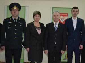 Ministrul Apărării Victor Gaiciuc în vizită de lucru la Drochia