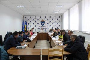 Ședința extraordinară a Consiliului raional Drochia din 24.01.2020