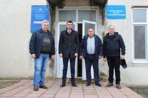 Vizita de lucru în comuna Cotova.