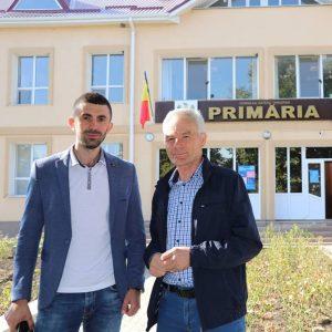 Președintele raionului Drochia, Alexei VASILEAN în vizită în localitatea Țarigrad