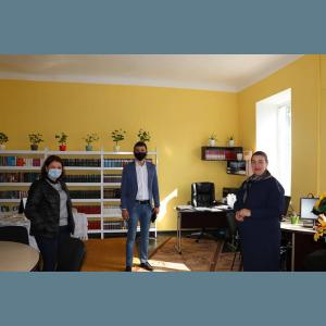 Președintele raionului Drochia, Alexei VASILEAN în vizită în localitatea Chetrosu, raionul Drochia