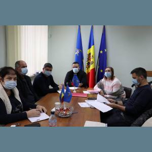 Ședință de lucru a grupului de inițiativă în cadru proiectului: Îmbunătățirea atractivității turistice din Regiunea de Nord a Republicii Moldova, prin reabilitarea conacelor din raionul Drochia