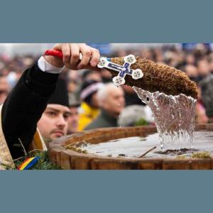 Mesaj de felicitare cu prilejul sărbătorii Botezul Domnului sau Boboteaza